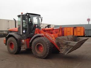 Hitachi shovel ZW 140 met 2,4 m³ bak